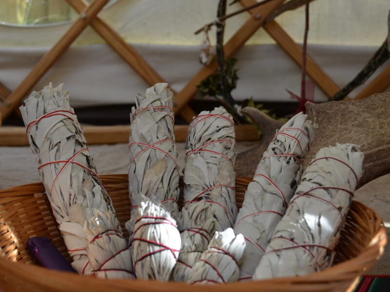 Healing with White Sage - Smudging for Personal Clearing